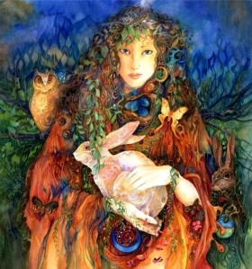 Ostara, the Goddess of Spring