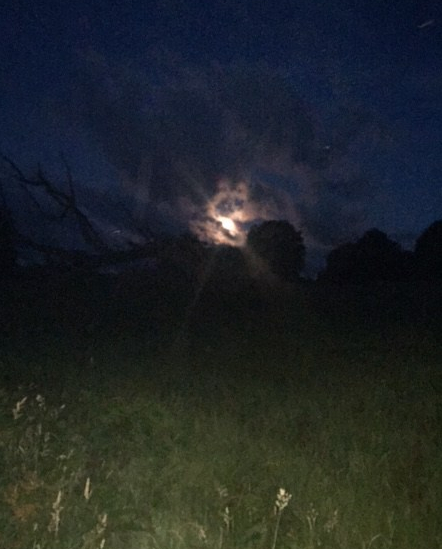 thunder moon coming out